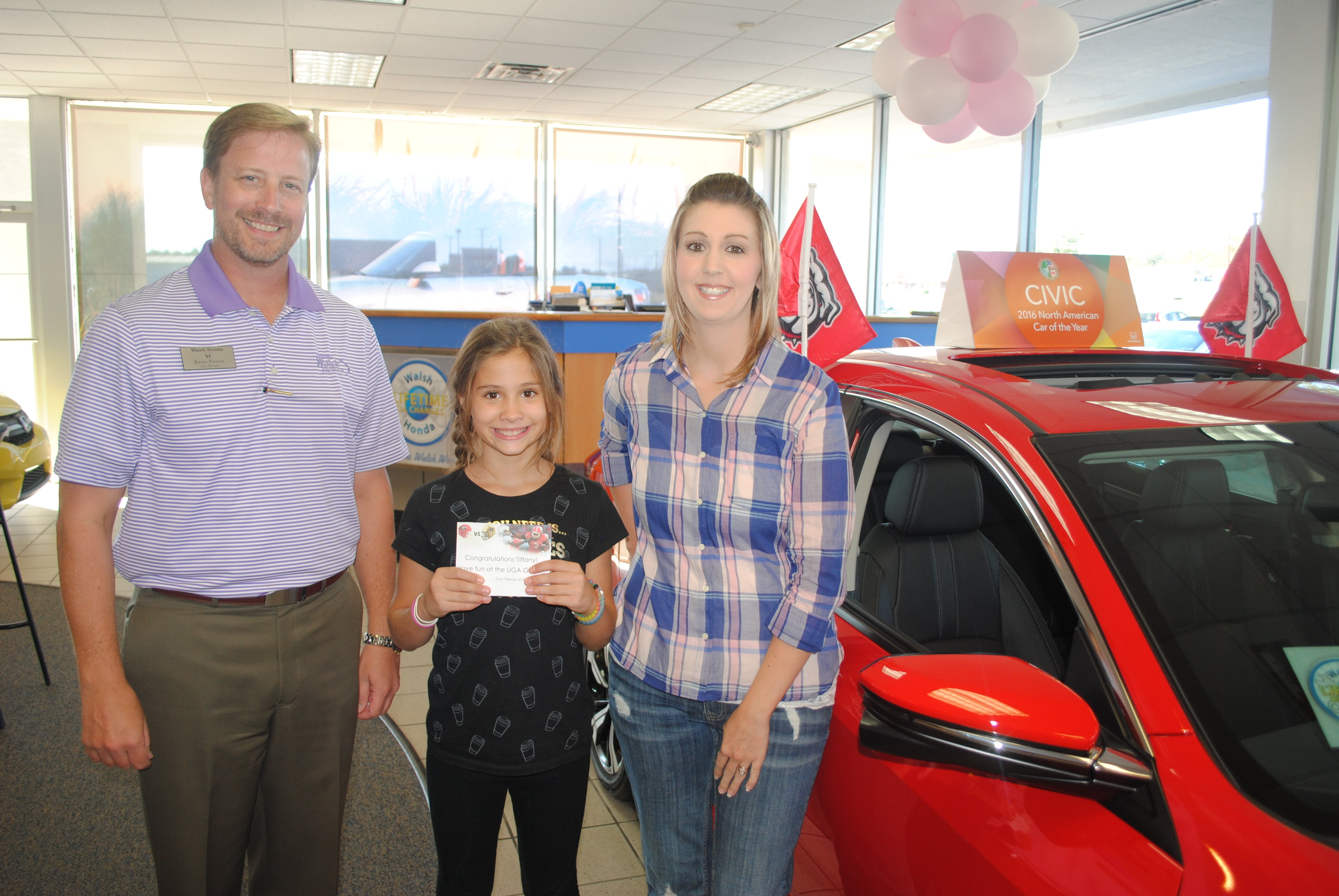 Winning At Walsh Honda