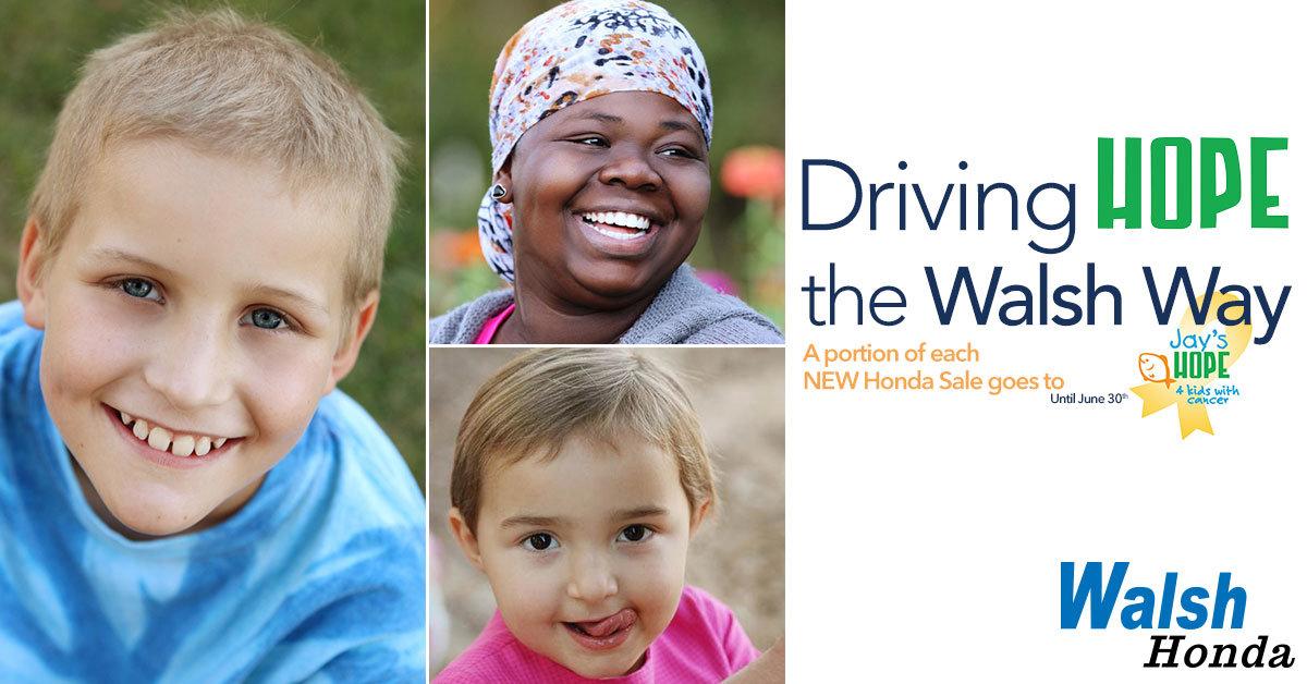 Driving Hope The Walsh Way