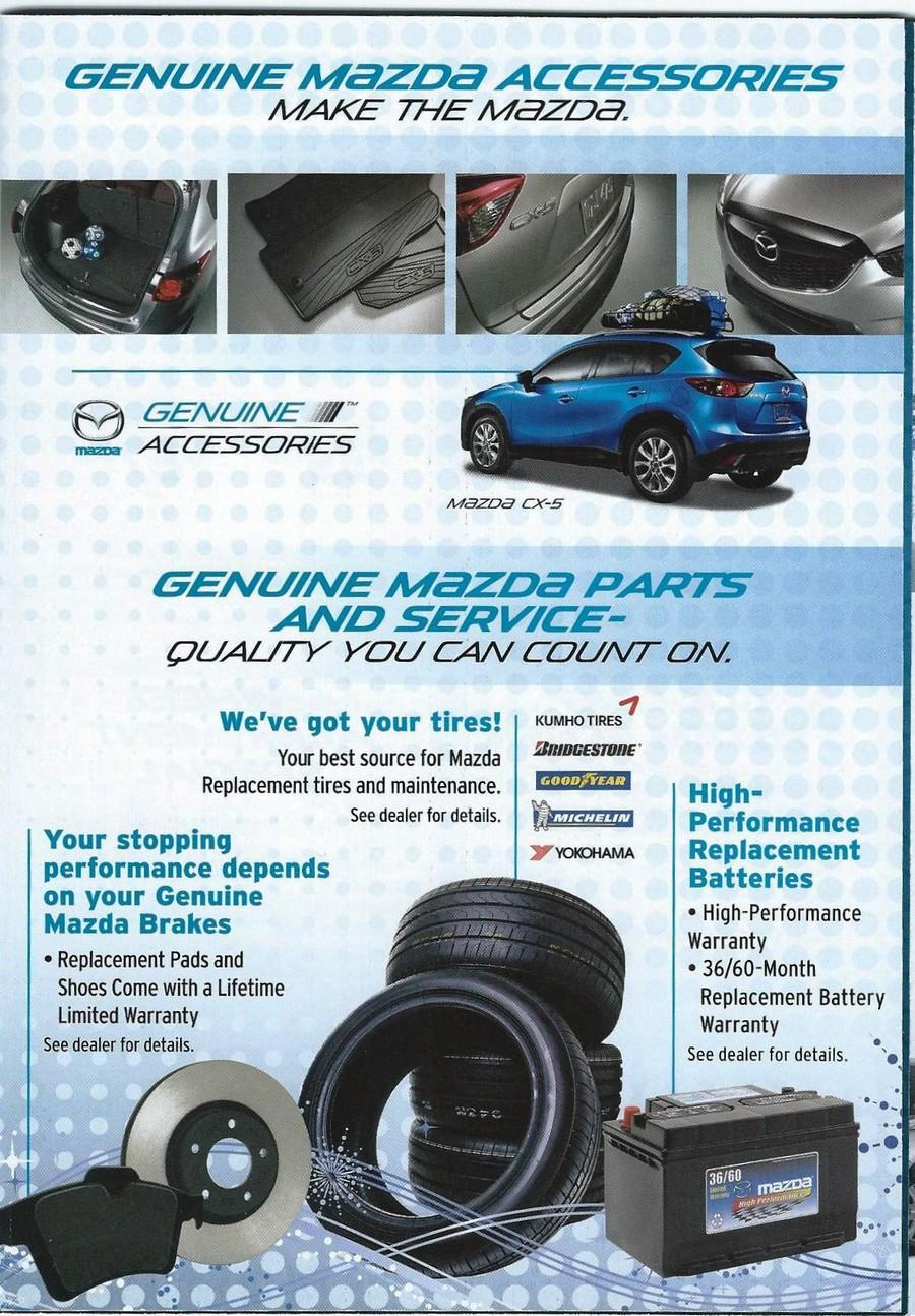 Genuine Mazda Accessories