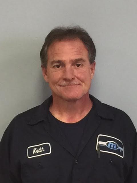 Keith McCabe - Body Shop Technician