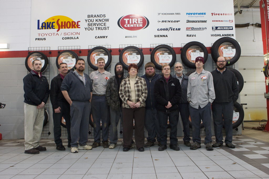 Our Toyota service team