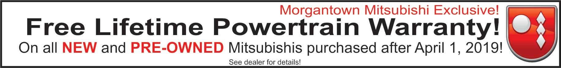 Free Powertrain Warranty