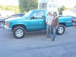 1994 Chevy 1500 W/T 4x4 September 2012 -