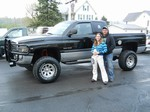 1999 Dodge Ram Lifted 4x4 April 2012 -