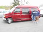 1999 Ford Hi Top Conversion Van April 2012 -