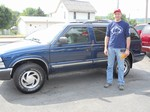 2000 Chevy Blazer 4x4 July 2012 -
