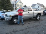 2001 Dodge Ram 1500 4x4 October 2012 -