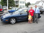 2001 Pontiac Sunfire Sedan July 2012 -