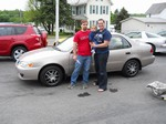 2001 Toyota Corolla May 2012 -