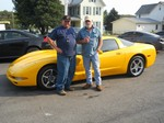 2002 Chevy Corvette September 2012 -