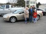 2002 Dodge Stratus SE Feb 2012 -