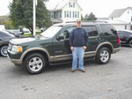 2002 Ford Explorer Ed Baurer October 2012 -