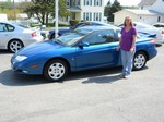 2002 Saturn SC2 3 Door Coupe April 2012 -