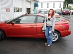 2002 Saturn SC2 3 Door Coupe May 2012 -