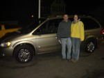 2002 Town and Country Limited Jan 2012 -
