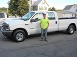 2003 Ford F350 Diesel July 2012 -