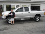 2004 Dodge Ram 2500 Quad Cab 4x4 September 2012 -