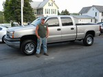 2005 Chevy 2500HD Crew Cab Duramax Diesel 4x4 June 2012 -