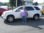 2005 Chevy Equinox LT AWD August 2012 -