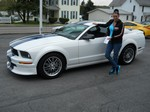 2007 Ford Mustang Custom April 2012 -