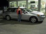 2008 Honda Accord March 2012 -