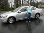 2008 Honda Accord LX March 2012 -
