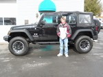 2008 Jeep Wrangler X Unlimited Feb 2012 -