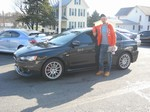 2008 Mitsubishi Lancer Evolution AWD November 2012 -