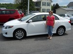 2009 Toyota Corolla S May 2012 -