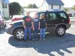 2001 Ford Escape 4x4 Setember 2013 -
