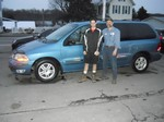 2001 Ford Windstar SE Feb 2013 -