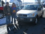 2001 Toyota Rav4 AWD January 2013 -