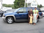 2003 Chevy Trailblazer LTZ 4x4 Aug 2013 -
