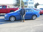 2004 Acura TSX Sedan January 2013 -