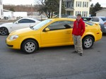 2005 Chevy Cobalt Coupe April 2013 -