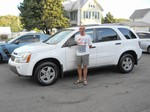 2005 Chevy Equinox AWD September 2013 -