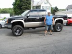 2005 Chevy Silverado Lifted 4x4 July 2013 -