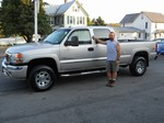 2005 GMC 2500HD Duramax Diesel 4wd October 2013 -