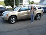 2006 Chevrolet Equinox AWD Aug 2013 -
