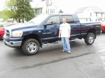 2006 Dodge Ram 2500 Mega Cab 4x4 May 2013 -