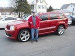 2006 Jeep Grand Cherokee SRT8 AWD March 2013 -