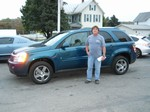 2007 Chevy Equinox LT AWD October 2013 -
