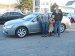 2007 Nissan Maxima SL March 2013 -