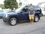 2007 Nissan Xterra Off Road 4x4 August 2013 -
