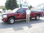 08 Chevy Silverado 1500 Z71 4x4 September 2013 -