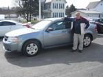 2008 Dodge Avenger SE April 2013 -