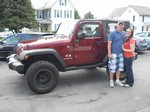 20 08 Jeep Wrangler X 4x4 September 2013 -