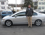 2009 Honda Civic EX Sedan December 2013 -