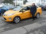 2011 Ford Fiesta SEL December 2013 -
