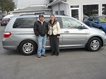 07 Honda Odyessey EXL Minivan January 2014 -